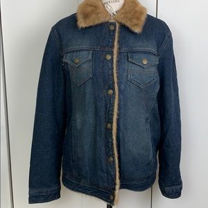 cole B country jeans jacket sz L